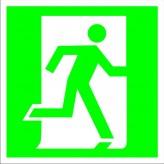 Векторные эвакуационные знаки